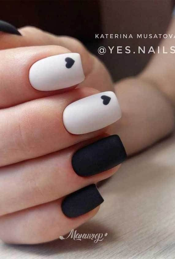 Best Nail Art Ideas For Valentine 2020 48 Valentine Nails 2020 Valentines Day Nails 2020 Valentine S In 2020 Stylish Nails Short Acrylic Nails Best Acrylic Nails