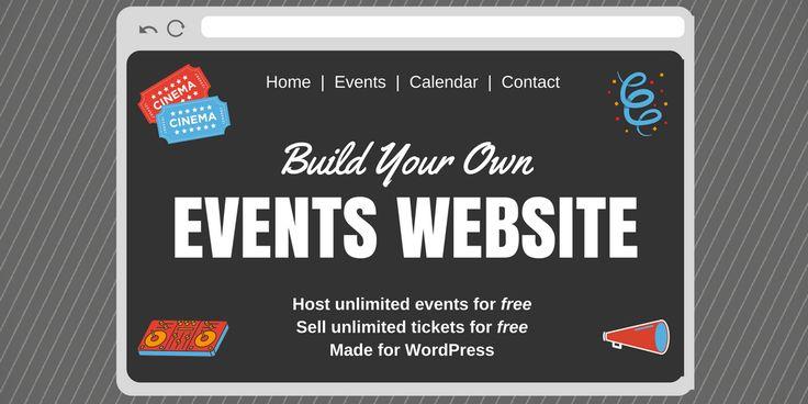 #Eventprofs build your own #event website using #WordPress & Event Espresso. Get Started Now:  #eventtech