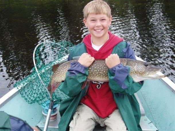 Northern Pike the best when family fishing with the kids because they very easy to catch. Pike are very aggressive, and here at Kashabowie Outposts, they among the most popular game fish in our remote fly in fishing lakes.