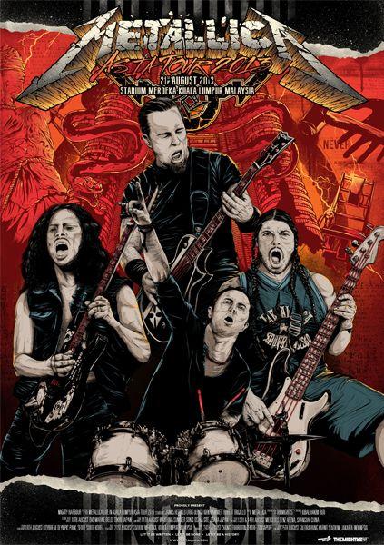 Metallica - Igbal Hakim Boo - 2013 ----