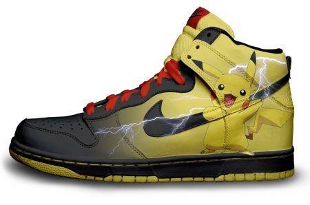 official photos 054b5 83595 4821561524 c6115f5c4d Pokemon Pikachu Custom Nike Dunk Sneakers