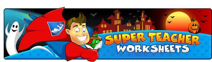math worksheet : super teacher worksheets  many teacher helps including a free  : Free Teacher Worksheets Math