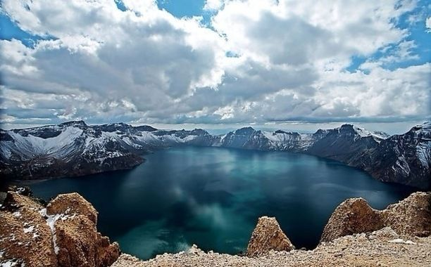 Tianchi, gift of the nature! Discovered by Leith Xu at CPC Jilin Changbaishan National Nature Reserve Management Bureau Touxi Party Branch, Yanbian, #China