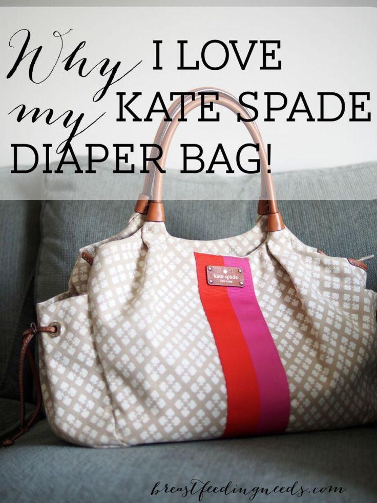 Why I Love my Kate Spade Diaper Bag! - Breastfeeding Needs