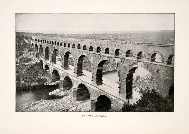 a focus on the iconic french structure the pont du gard Pont du gard, (french: bridge of the gard), giant bridge-aqueduct, a notable ancient roman engineering work constructed about 19 bc to carry water to the city of nîmes over the gard river in southern france the structure was severely damaged in the 5th century but was restored in 1743.