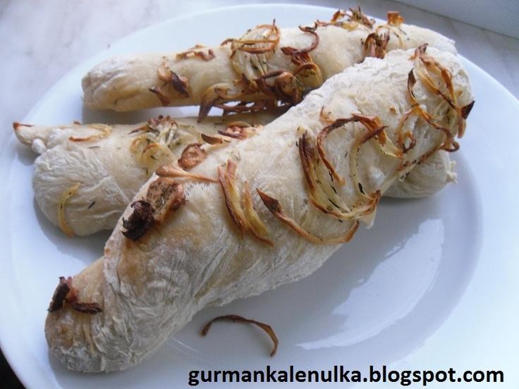 Gurmánka Leňulka: Jamieho cibulové bagetky