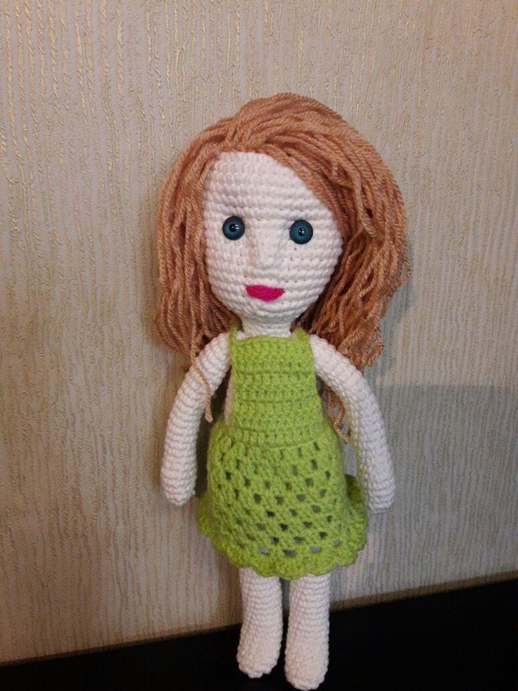 Вязаная кукла Квитка