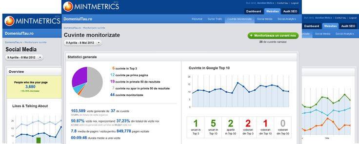 Despre MintMetrics - SEO, Analytics, Social Media