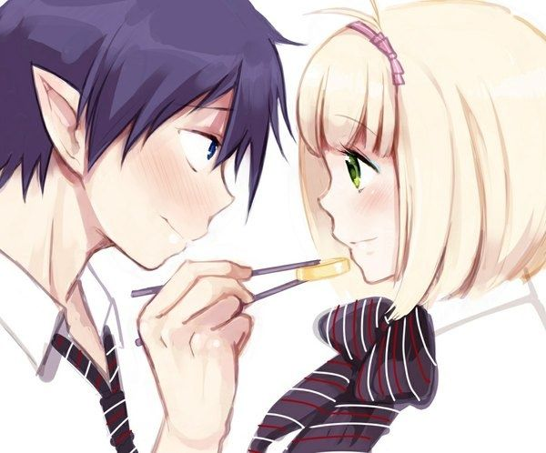 Rin and Shiemi.