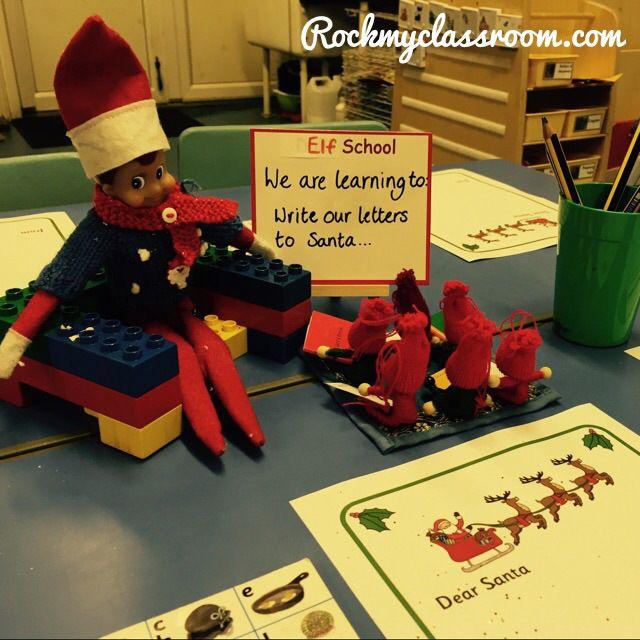 Invite to write Santa letters/Elf school