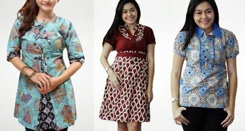Model Baju Batik Modern Orang Gemuk Model Model Wanita Dan Orang