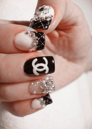 47 best nails images on pinterest acrylic nail designs acrylic acrylic nail designs acrylic nails art nails nail art designs acrylics chanel logo coco chanel chanel nails google search prinsesfo Image collections