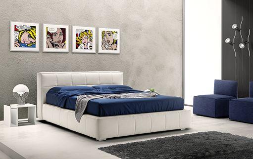 Una camera da letto dalle Atmosfere decisamente POP! #LaCasaModerna #Beds #SweetDreams ● lacasamoderna.com