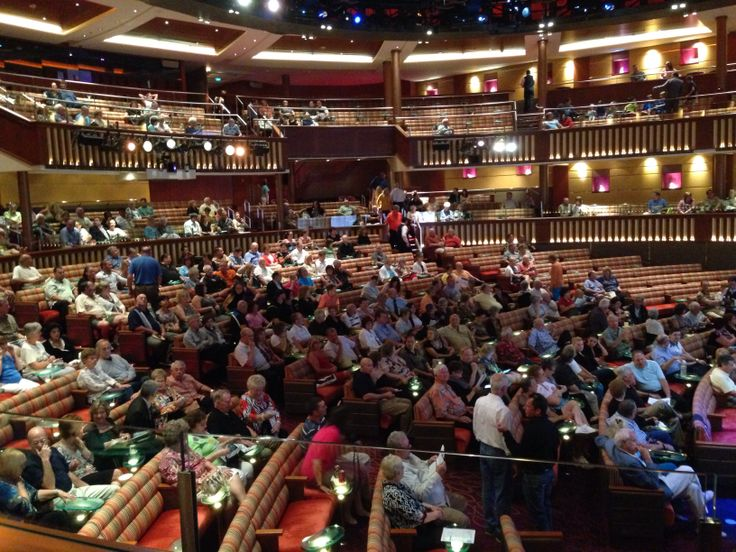 The theatre on Celebrity Summit