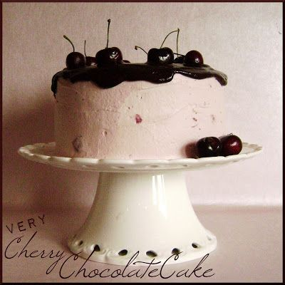 Louise´s Spis: Very Cherry Chocolate Cake