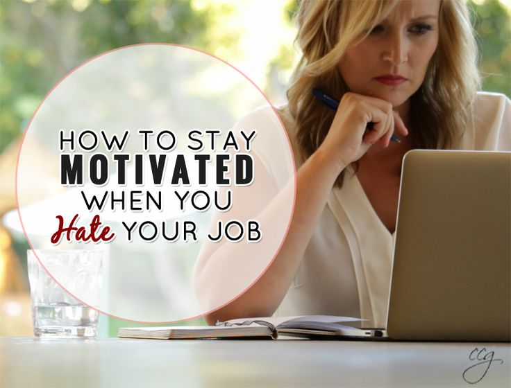 I dreaded walking into the doors of the office to a job that didn't fit who I really was. http://www.classycareergirl.com/2014/09/how-to-stay-motivated-when-you-hate-your-job/