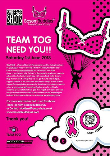 Team Tog - Charity Skydive Poster PLEASE! Re-pin!!!!!