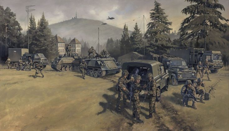 Royal Corps of Signals BAOR Germany