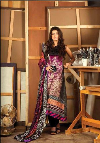 Pakistani Ladies Suits: Firdous 2012