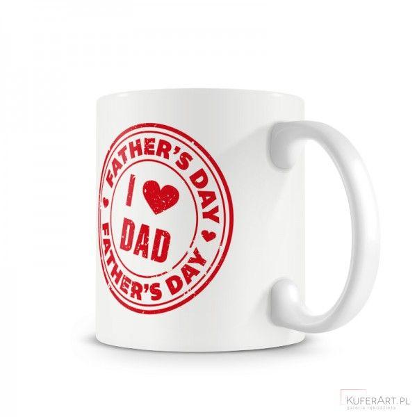 Kubek - najlepszego taty - Ceramika - Dekoracje wnętrz