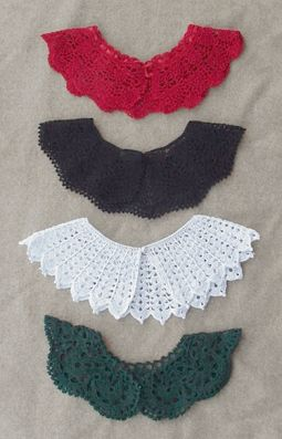 Free Crochet Patterns Dresser Runner | hand crochet collars was crochet popular our beautifully hand crochet