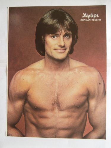 Duncan Regehr s Stallone Poster from Greek Magazines clippings 1970s 1990s | eBay