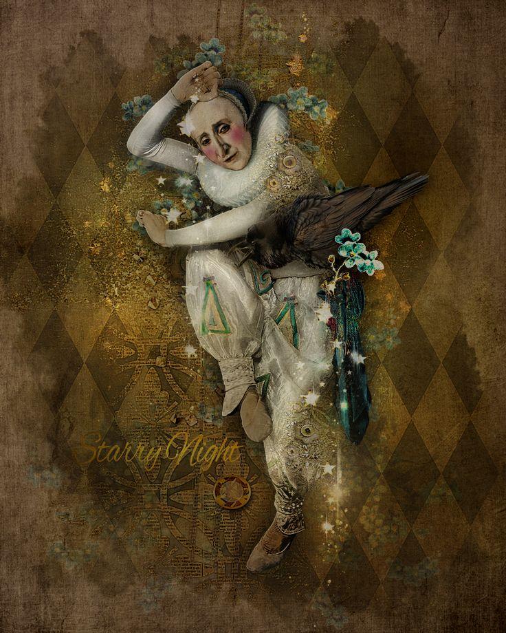 ******** Starry Night ******** Joy to the world. With Teddi Rutschman. ©Ina RijkensdigitalArt2017. Renaissance by Foxeysquirrel at Oscraps. https://www.oscraps.com/shop/Renaissance-trutschman.html