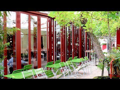 Glacis Beisl: Garden Restaurant Vienna - YouTube