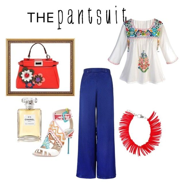 """have fun in style"" by danielsan on Polyvore featuring Fendi, Dsquared2, Chanel and thepantsuit"