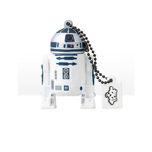 Ukladajte si svoje dáta na USB flash disk v podobe postavičky R2-D2kultovej série Star Wars. USB klúč je vyrobený z mäkkej gumy s kapacitou 8GB a rozhraním USB 2.0.