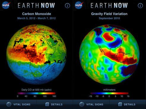 Climate Change Map NASA (page 2) - Pics about space