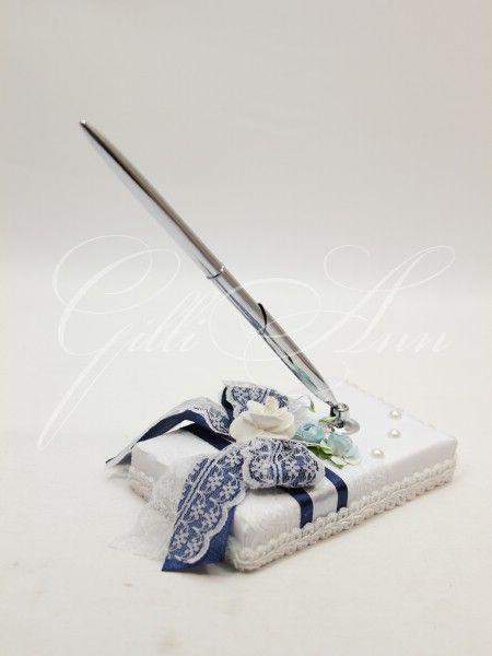 Свадебная ручка с подставкой Gilliann Rustik Velvet PEN020, http://www.wedstyle.su/katalog/anniversaries/wedding-pen, wedding pen