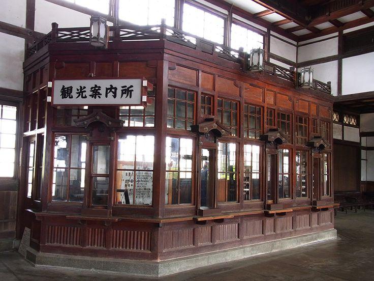 旧大社駅内部
