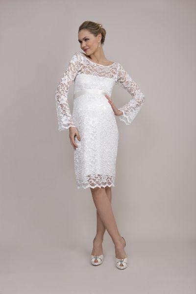 Kleid Cloe Von Mamarella Brautmode Fur Schwangere Pinterest