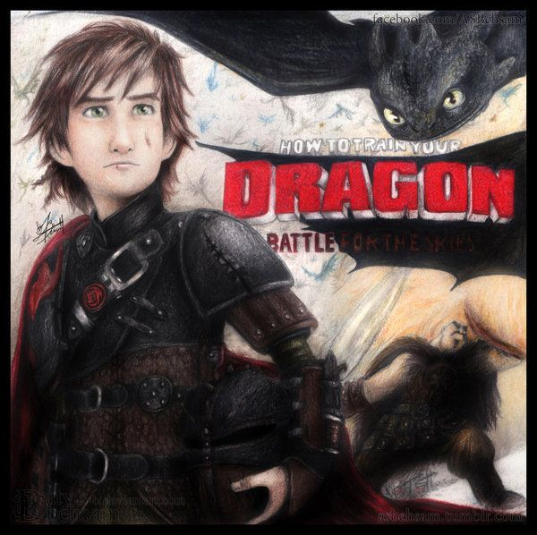 How to Train Your Dragon 19   BATTLE FOR THE SKIES (How to Train Your Dragon 2) by Aty-S-Behsam ...