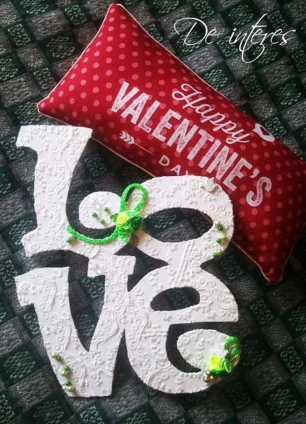 Фотографии De Interes.Слово Love. В наличии! (материал картон+гипюр)#слова#буквы#гипюр#любовь#love#голубь