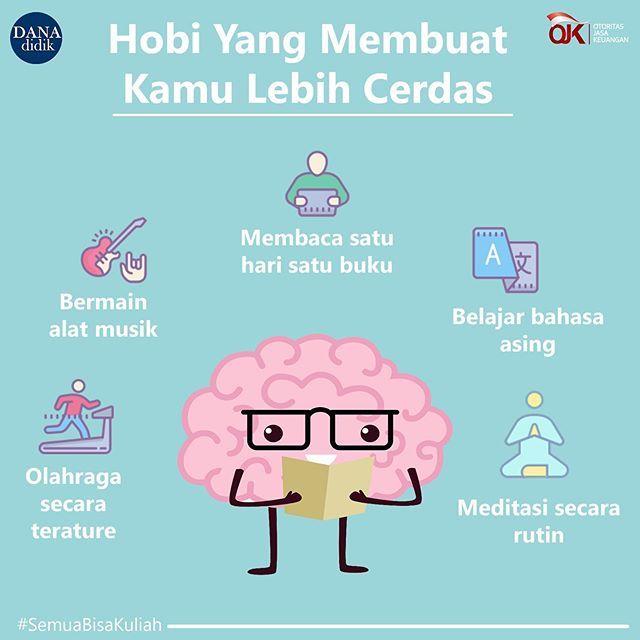Ada Hobi Yang Bisa Membuat Kamu Lebih Cerdas Loh Apa Saja Itu Simak Informasinya Berikut Ini Danadi Pendidikan Pendidikan Kesehatan Psikologi Perkembangan