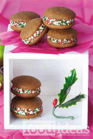 8 best christmas cooking images on pinterest christmas dinner wee whoopie gingerbread pies page 77 decemberjanuary issue super food ideas forumfinder Choice Image