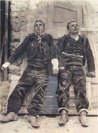 Villaverde del Guadalimar, Albacete, 31 de agosto de 1907 · La Guardia Civil mata al Pernales, bandolero de leyenda, y a su compañero el Niño de Arahal.