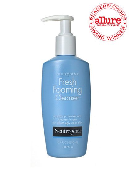 2014 Readers' Choice Awards winner: Neutrogena Fresh Foaming Cleanser lathers up and removes waterproof makeup in no time