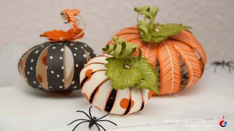 stampin' up Halloween Kürbis laub vintage leaves Geisterstunde pinselschereco alexandra grape