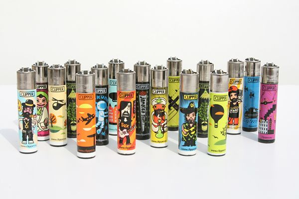 CLIPPER LIGHTERS DESIGN by Sasha Suris, via Behance