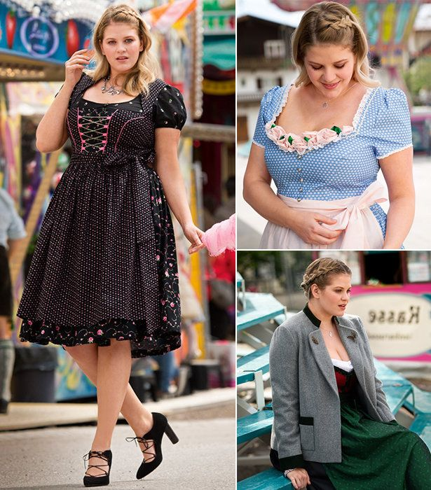 Plus Size Dirndls: 10 New Women's Plus Size Sewing Patterns | BurdaStyle | Bloglovin'