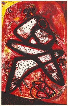 Frank Lobdell. Untitled. 1966