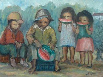 Waatlemoen Eters by Amos Langdown - Fine Art   Dante Art Gallery