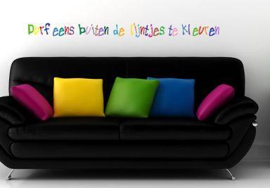 Muurstickers Teksten & Citaten Shop 3 - wall-art.nl