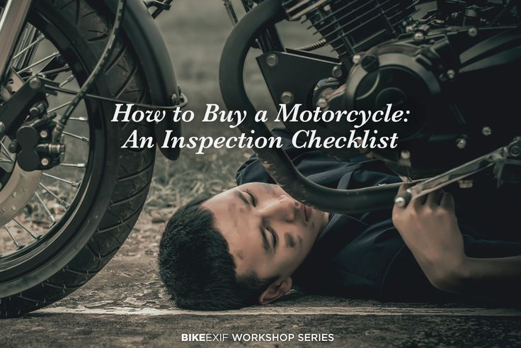 An expert mechanic reveals what he looks for when buying a used motorcycle. Grab a copy of his checklist to avoid making expensive mistakes.