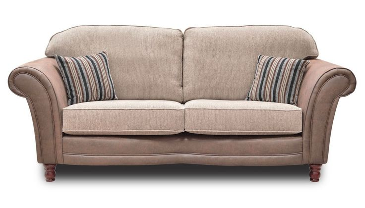 3 Seater Standard Back Sofa from the Balmoral range | AHF Furniture And Carpets