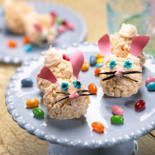 #Kelloggs Rice Krispies Treat Bunnies!