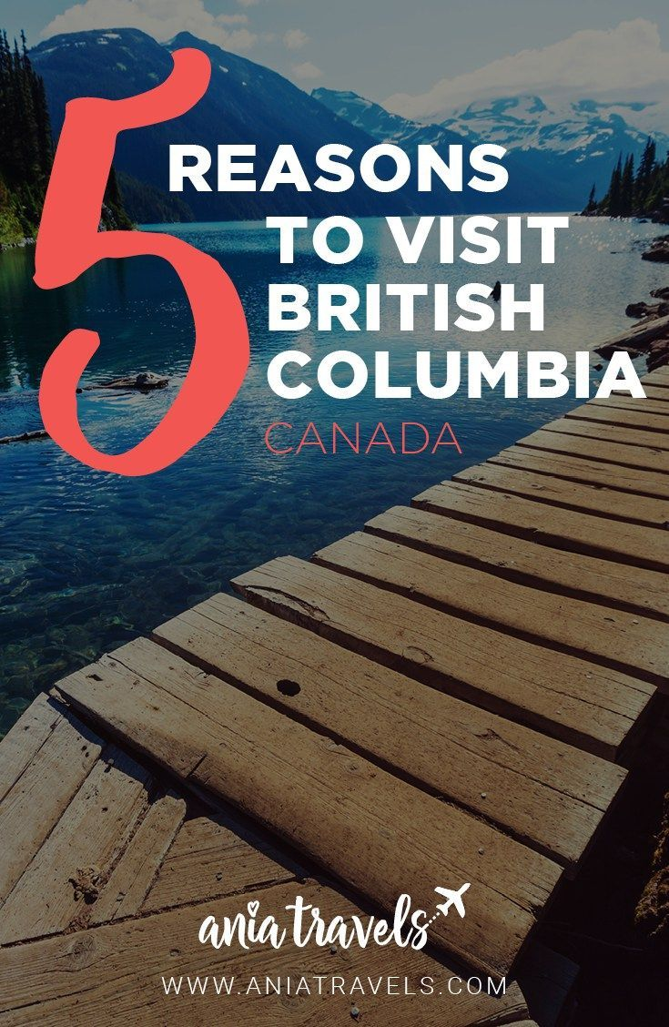 If you are making plans for your next getaway, you might want to consider British Columbia as your next destination. This stunning part of Canada has a lot to offer whether you are looking for a city break, outdoor adventuring, or even visiting the filming location from one of Hollywood's most iconic franchises. Here are five reasons why you should visit BC.